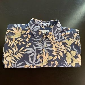 Pierre Cardin 100% Cotton Hawaiian Shirt In XL